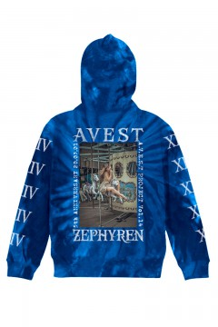 A.V.E.S.T project vol.14 PARKA TIEDYE BLUE