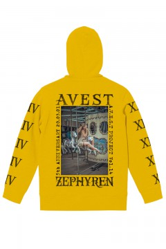 A.V.E.S.T project vol.14 PARKA YELLOW