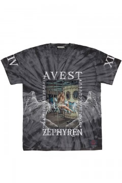 A.V.E.S.T project vol.14 S/S TEE TIEDYE BLACK