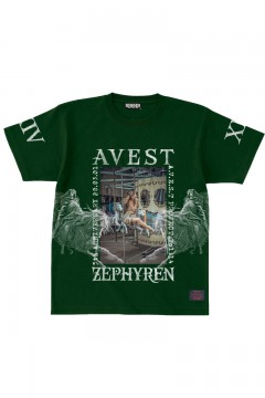 A.V.E.S.T project vol.14 S/S TEE D.GREEN