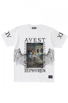 A.V.E.S.T project vol.14 S/S TEE WHITE