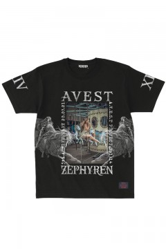 A.V.E.S.T project vol.14 S/S TEE BLACK