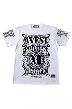 A.V.E.S.T project vol.12 S/S TEE -PENTACLE- WHITE