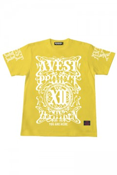 A.V.E.S.T project vol.12 S/S TEE -PENTACLE- YELLOW