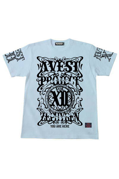 A.V.E.S.T project vol.12 S/S TEE -PENTACLE- AQUA