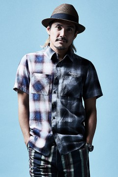 CHECK SHIRT S/S MIX