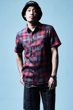 CHECK SHIRT S/S RED