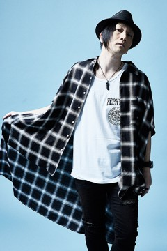 【予約商品】LONG CHECK SHIRT S/S BLACK