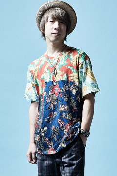 MIX BIG TEE S/S ALOHA / MIX