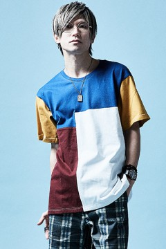 MIX BIG TEE S/S COLOR / MIX