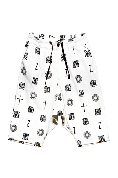 SAROUEL SWEAT SHORTS  WHITE / 如意宝珠