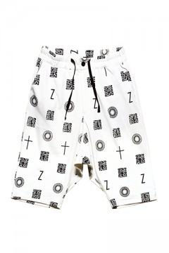 【予約商品】SAROUEL SWEAT SHORTS  WHITE / 如意宝珠