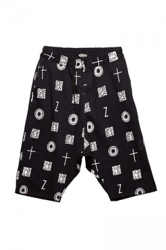 【予約商品】SAROUEL SWEAT SHORTS  BLACK / 如意宝珠