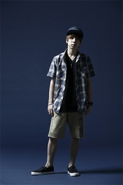 CHECK SHIRT S/S -Resolve- GRAY