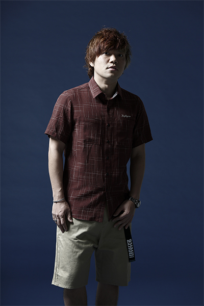 【予約商品】Zephyren SPASHED SHIRT S/S -Resolve- BURGUNDY
