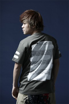 【予約商品】Zephyren S/S TEE -PLEDGE- ARMY