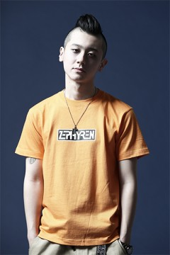 Zephyren S/S TEE -PROVE- ORANGE