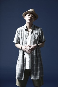 LONG SHIRT S/S -Resolve- WHITE CHECK