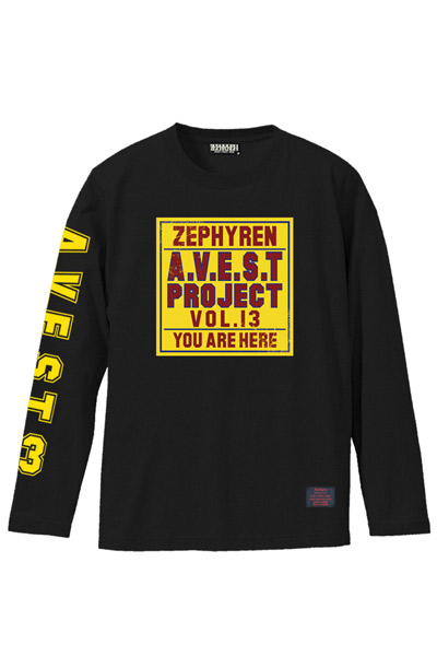 A.V.E.S.T project vol.13 L/S TEE BLACK