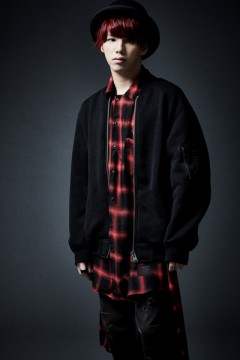 LONG CHECK SHIRT L/S  RED