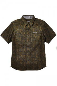 PAISLEY SHIRT S/S-Resolve- KHAKI