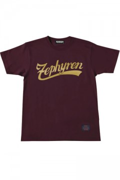 S/S TEE -BEYOND- BURGUNDY GOLD