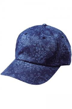 6 PANEL CAP -ENGRAVE-NAVY