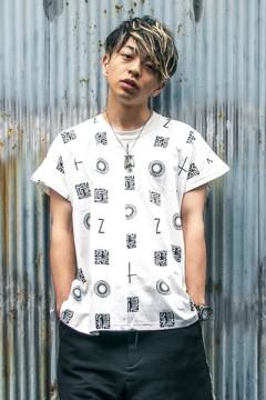 PONCHO TEE S/S WHITE / 如意宝珠