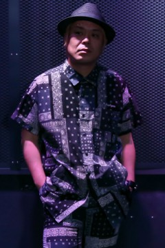 BIG SHIRT S/S -Resolve- BLACK PAISLEY
