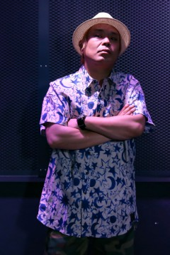 BIG SHIRT S/S -Resolve- GEO WHITE