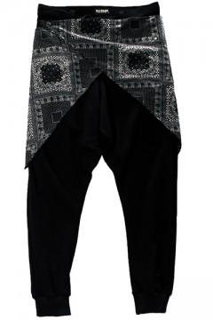 【予約商品】WAIST CLOTH SAROUEL PANTS BLACK