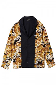 SWITCHING SHIRT L/S TIGER