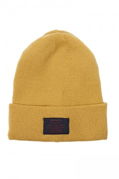 LONG BEANIE - You Are Here - YELLOW