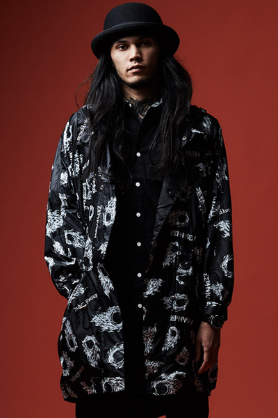 NYLON MODS COAT BLACK / apocalypse