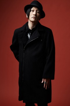 RIDERS MELTON COAT BLACK