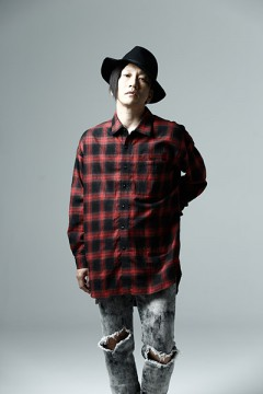 BIG CHECK SHIRT -Resolve- RED
