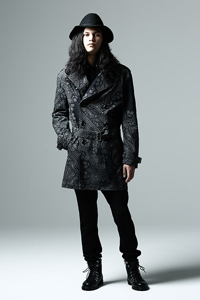 TRENCH COAT PAISLEY
