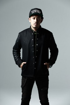 【予約商品】STUDIUM JKT BLACKxBLACK