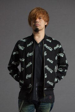 RIB JKT -CocaCola- BLACK