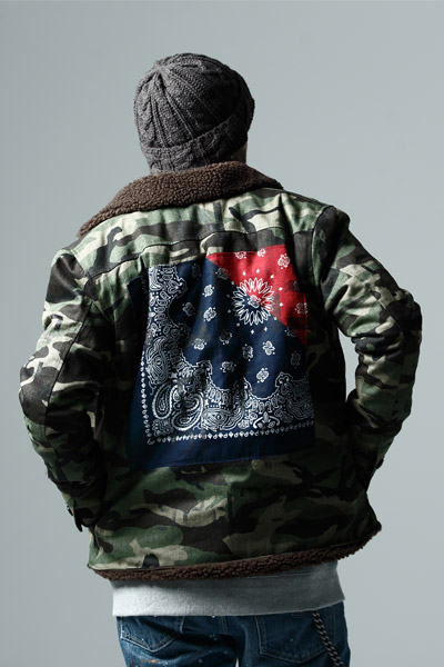 【予約商品】BOA JKT -Inhale the black- CAMO