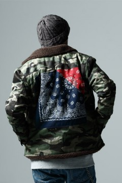 BOA JKT -Inhale the black- CAMO