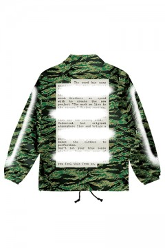 COACH JACKET -PLEDGE- CAMO I