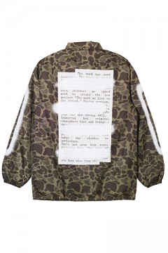 COACH JACKET -PLEDGE- CAMO II
