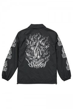 COACH JACKET -PRAY / PRAYING HAND- BLACK/PRAING HANDS