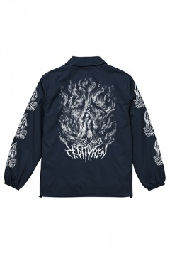 COACH JACKET -PRAY / PRAYING HAND- NAVY/PRAING HANDS
