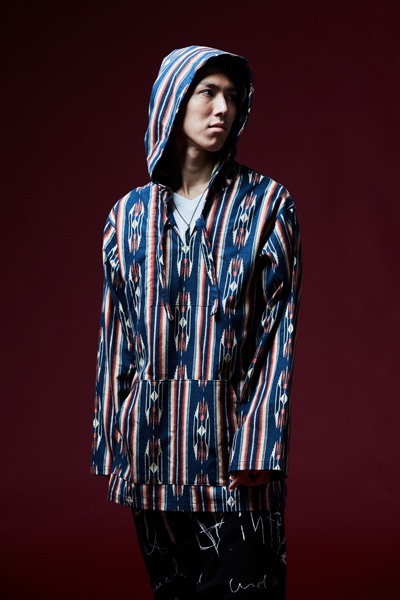 【予約商品】NATIVE PARKA NAVY