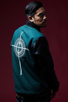 【予約商品】STUDIUM JACKET BLACK/GREEN