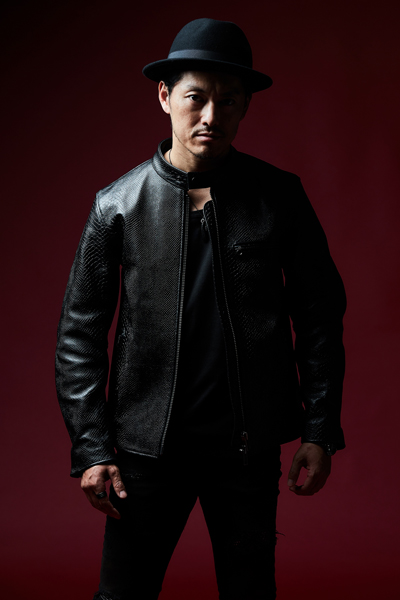 【予約商品】RIDERS JACKET BLACK/PYTHON