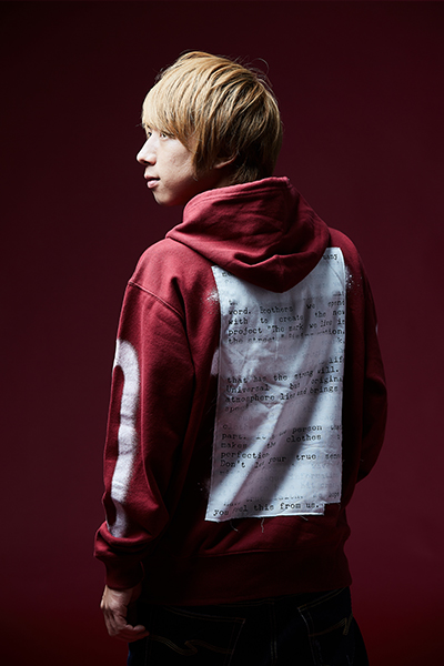 ZIP PARKA -PLEDGE- BURGUNDY