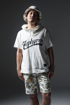 BIG HOODY S/S-BEYOND- WHITE